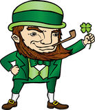 Duende do dia de St Patrick Foto de Stock Royalty Free