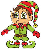 Duende do Natal Fotos de Stock Royalty Free