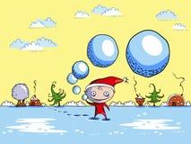 Duende juguetón Imagen de archivo libre de regalías