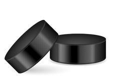 Duende malicioso de hockey Imagen de archivo