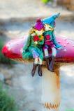 Duendes no amor dois Imagem de Stock