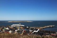 duene heligoland γείτονας νησιών Στοκ φωτογραφίες με δικαίωμα ελεύθερης χρήσης