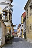 Duernstein village in Wachau, Austria stock photography