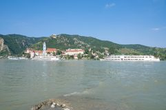 Duernstein,Wachau,Danube River,Austria Royalty Free Stock Photos