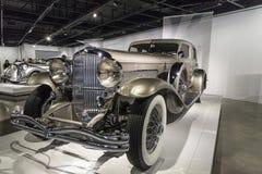 1931年Duesenberg模型J Rollston 免版税库存照片