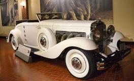 1935年Duesenberg模型JN敞蓬车敞篷车 图库摄影