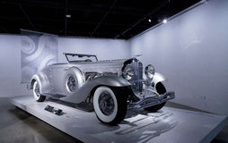 1936 Duesenberg πρότυπο SJN μετατρέψιμο Coupe Στοκ εικόνες με δικαίωμα ελεύθερης χρήσης