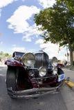 Duesenberg Classic Car. AUBURN, IN - SEPTEMBER 4: Duesenberg Classic Car at the Annual Classic car parade in Auburn, Indiana September 4, 2010 Royalty Free Stock Photography