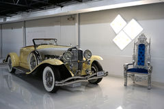 Duesenberg SJ Boattail Speedster. At display at Dezer Museum, Miami USA. The museum is actually the private collection of the real estate developer Michael Stock Photo