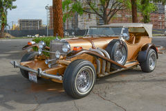 Duesenberg SJ LA Phaeton classic car on display Stock Photo