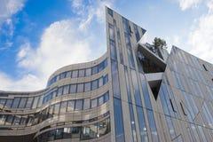 Duesseldorf - αρχιτεκτονική Libeskind Στοκ εικόνες με δικαίωμα ελεύθερης χρήσης