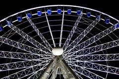 Duesseldorf Ferris Wheel Fotografie Stock Libere da Diritti