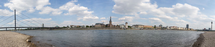 Duesseldorf germany high resolution panoramic picture Stock Photos