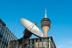 DUESSELDORF, GERMANY - JANUARY 20, 2017: The WDR one of the oldest German broadcasting and media companies has its regional headqu Royalty Free Stock Photo