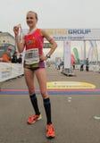 Duesseldorf-Marathon Lizenzfreies Stockbild