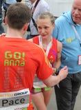 Duesseldorf-Marathon lizenzfreie stockfotografie