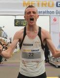 Duesseldorf maraton Arkivbild