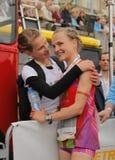 Duesseldorf maraton Royaltyfri Foto