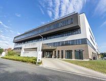 Duesseldorf Niemcy, Wrzesień, - 04 2017: Nowi budynki Florence Nightingale szpital kończą wewnątrz Zdjęcie Royalty Free