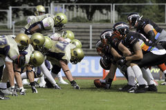 Duesseldorf Panther v Dresden Monarchs, Stock Photos