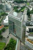 Duesseldorf stadsport arkivfoto