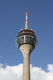 Duesseldorf TV-Tower. (Fernsehturm) for Broadcast TV and Radio Signals Royalty Free Stock Photos