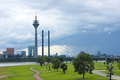 Duesseldorf Royalty Free Stock Images
