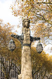 Duesseldorf - unikalni lampiony na Koe Zdjęcie Stock
