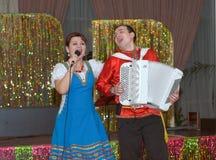 Duet Irina and Michael Drokovy Stock Image