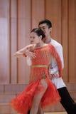 Duet latin dance Stock Photography