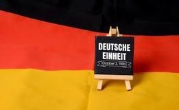 Duetche Einheit德国美国独立日1990年10月3日 免版税库存照片