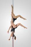 Dueto da dança de Polo Foto de Stock Royalty Free