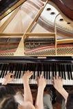 Dueto do piano Foto de Stock Royalty Free