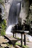duf马其顿瀑布 免版税图库摄影
