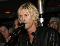 Duff McKagan Fotos de Stock Royalty Free