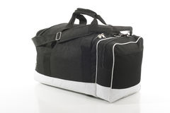 Duffel Bag Over White Royalty Free Stock Images