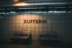 Dufferin Subway Station Toronto Royalty Free Stock Images