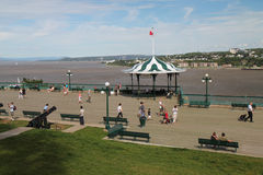 Dufferin Terrace, Quebec Royalty Free Stock Photography