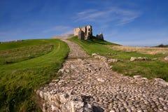 Duffus Castle, Elgin, Moray, Scotland Stock Photography