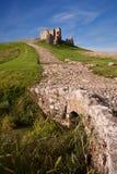 Duffus Castle, Elgin, Moray, Scotland Royalty Free Stock Photo