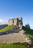 Duffus Castle ruins Stock Images