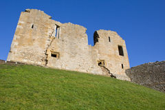 Duffus Castle ruins Royalty Free Stock Photos