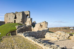 Duffus Castle, Scotland Royalty Free Stock Photo