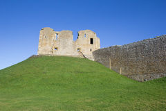 Duffus Castle, Scotland Stock Images