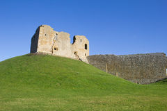 Duffus Castle, Scotland Stock Photo