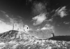 Duffus Castle, Scotland royalty free stock images
