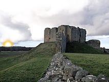 Duffus castle Stock Photography