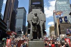 duffy статуя квадрата nyc отца Стоковое Фото