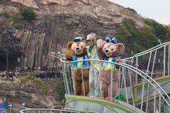 Duffy i Shelliemay Disney Znosi w Japonia Obraz Royalty Free