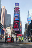 Duffy Square in New York City Stock Image